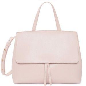 Mansur Gavriel Pink Saffiano Mini Lady bag